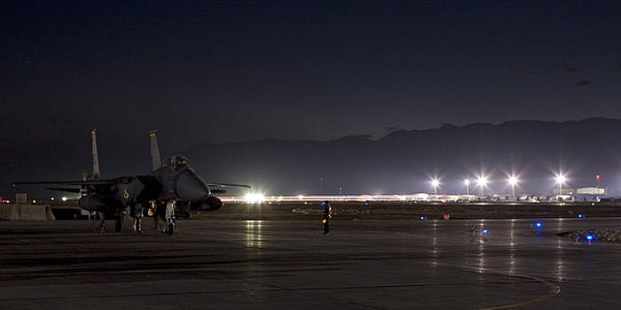 Tim Grams - F-15E- A Night Mission