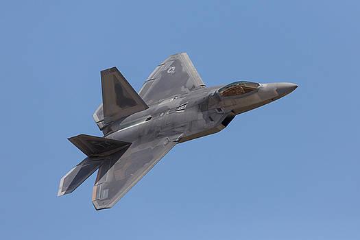 John Daly - F-22 Raptor and Pilot