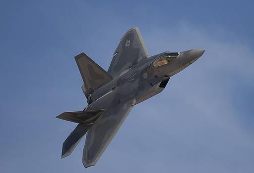 F-22 Raptor Fly-by by John Clark