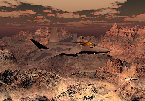 F-22 Raptor by Steven Palmer
