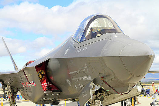 F-35 Smile by Shoal Hollingsworth