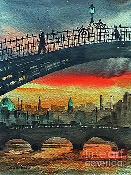Val Byrne -  F 711 Dublins Ha,penny Bridge.