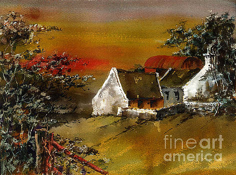 Val Byrne - F 832 Glencree Sunset Wicklow