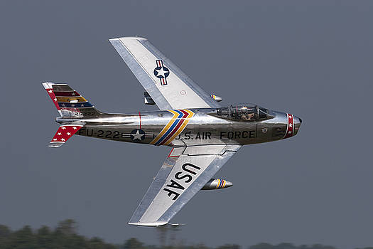 F-86 Sabre Fly-by by John Clark