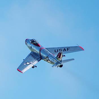 F-86 Sabre by Randy Scherkenbach