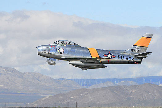 F-86 Taking Off by Shoal Hollingsworth