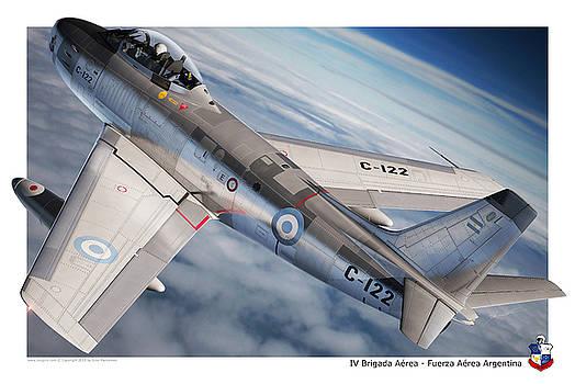 F-86F Argentina by Gino Marcomini