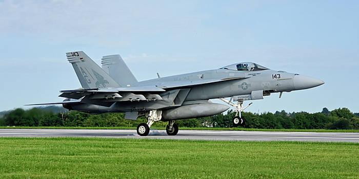 F/a-18e Super Hornet by Dan Myers