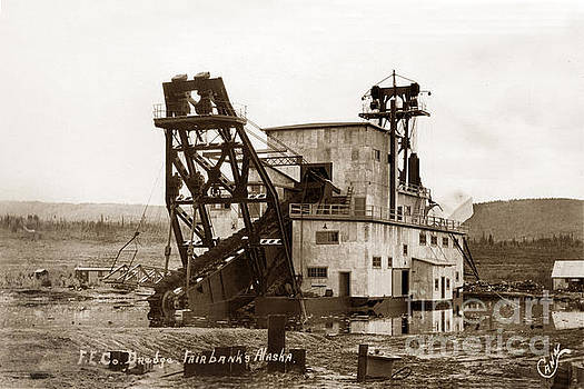 California Views Mr Pat Hathaway Archives - F. E. Co, Gold Drege No. 4 near Fairbanks Alaska Circa 1958