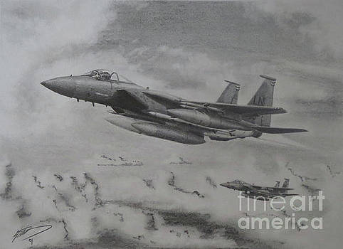 F15 Eagle by Simon Cockett