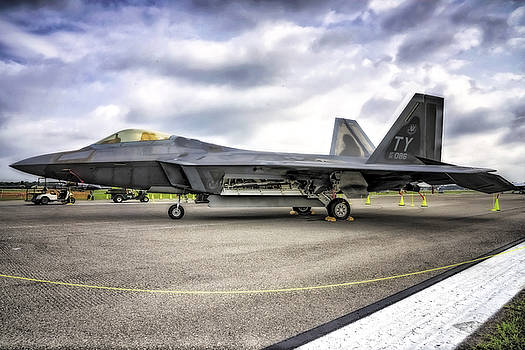 F22 Raptor in HDR by Michael White