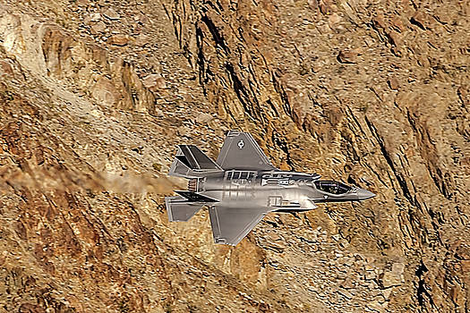 F35 Lightning From Above At The Jedi Transition II by Bill Gallagher