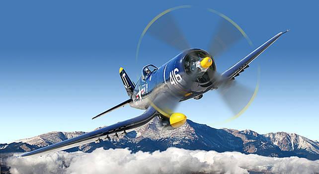 F4-U Corsair by Larry McManus