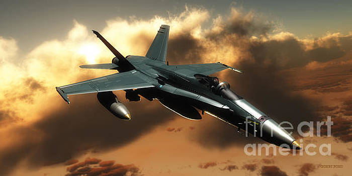 Corey Ford - FA-18 Hornet Fighter