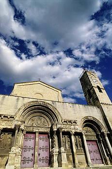 Sami Sarkis - Facade of a Benedictine monastery in Saint-Gilles