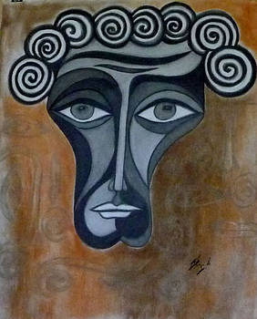 Face 2 by Sarojit Mazumdar