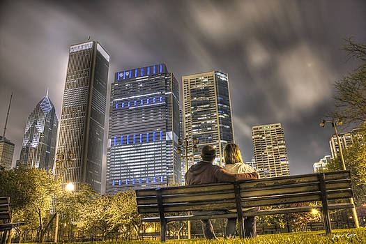 Face in the Clouds at Millennium Park by Jeramie Curtice