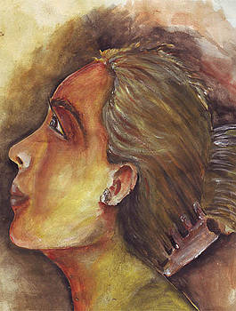 Face by Kanthasamy Nimalathasan
