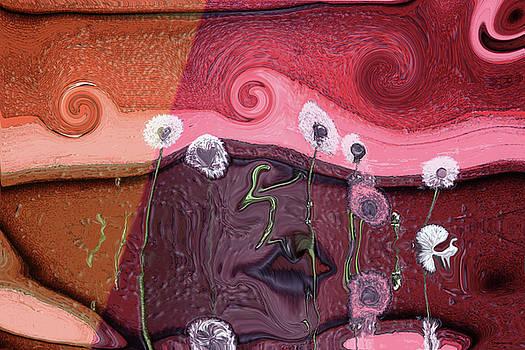 Face Lips by Linda Sannuti