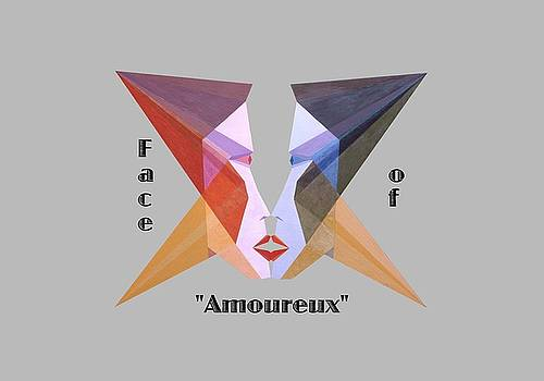 Face of Amoureux text by Michael Bellon