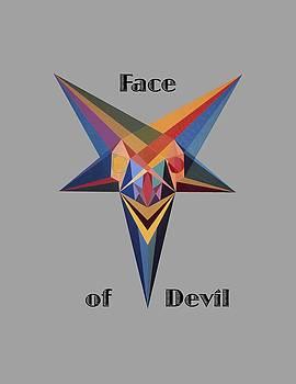 Face of Devil text by Michael Bellon