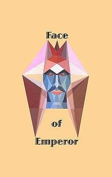 Face of Emperor text by Michael Bellon