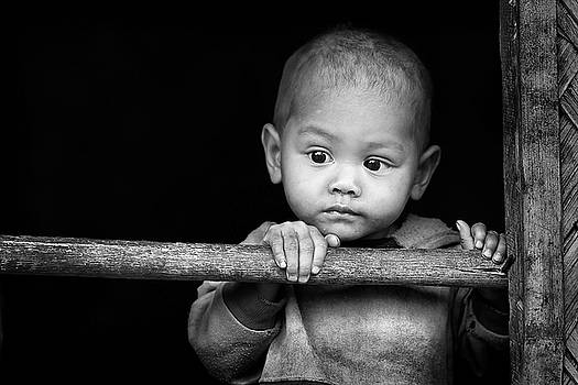 Face Of Innocence... by John Moulds