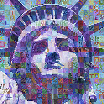 Face Of Liberty by Randal Huiskens