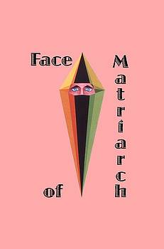 Face of Matriarch text by Michael Bellon