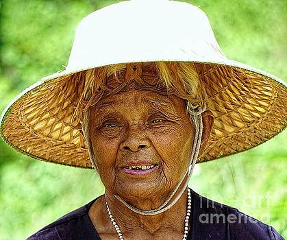 Face Of Rural Thailand by Ian Gledhill