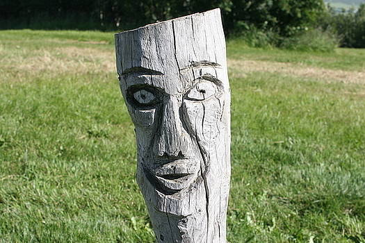 Face Of second Tree by Jon Thor Gudmundsson
