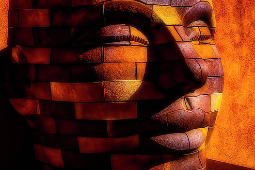 Face Of Stone by Garry Gay