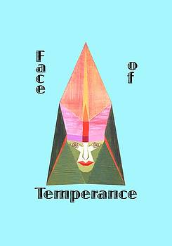 Face of Temperance text by Michael Bellon