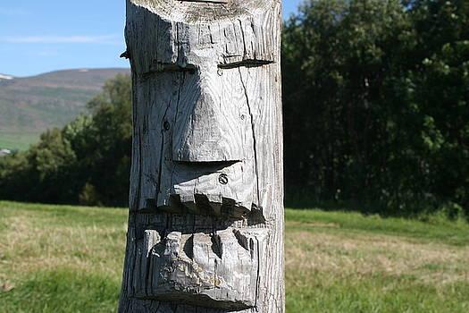 Face of third tree by Jon Thor Gudmundsson