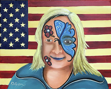 Face Paint and Freedom by Dean Glorso