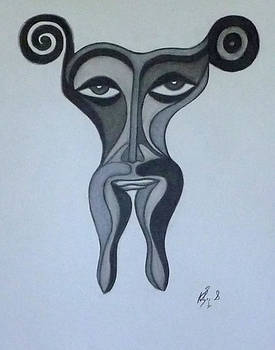 Face by Sarojit Mazumdar