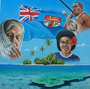 Faces of Fiji by Pravin  Sen