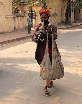 Faces of India - Snake Charmer by Steve Rudolph