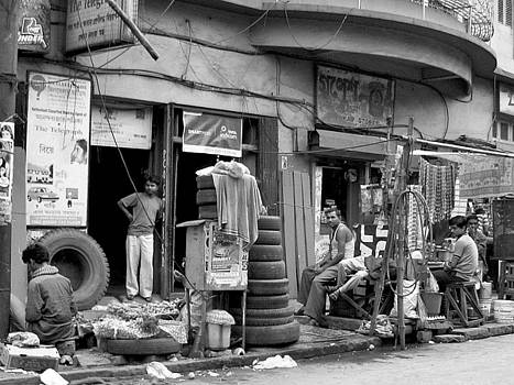 Faces of India - Street Living by Steve Rudolph