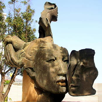Faces in Stone by Laurel Talabere