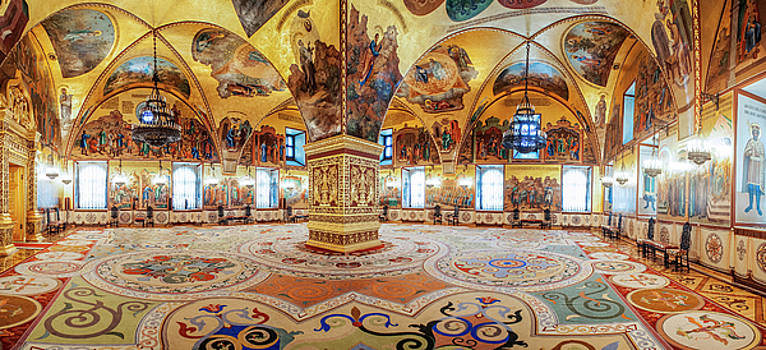 Faceted Chamber of the Moscow Kremlin by Azad Pirayandeh