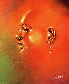 Facial Vignette in Profile by Al Brown