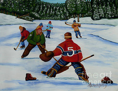 Facing The Goalie by Anthony Dunphy