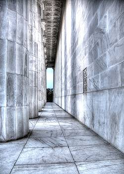 John King - Facing the Potomac.  West Side of Lincoln Memorial.