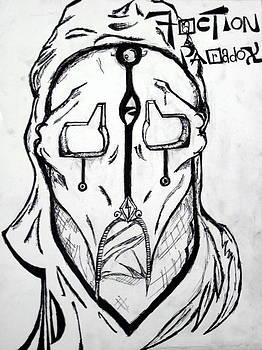 Faction Paradox Mask by Mahdi Thompson