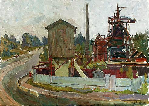 Factories of Demidov by Juliya Zhukova