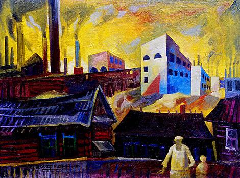 Ari Roussimoff - Factory Town