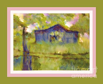 Faded Barn by Shirley Moravec