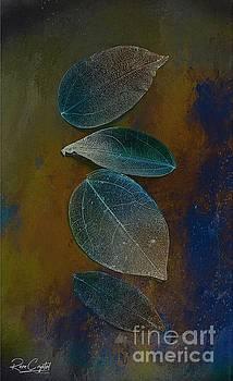 Fading Blue Quartet by Rene Crystal