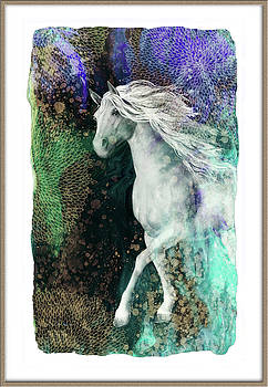 Fair Beauty  -Strolling  Horse by Grace Iradian
